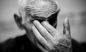 Desiderio, de 85 años, vecino de Pereña (Salamanca).