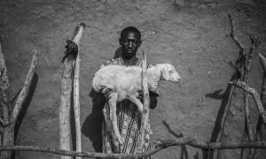 Un beneficiario de los proyectos de Acción contra el Hambre en Mauritania.
