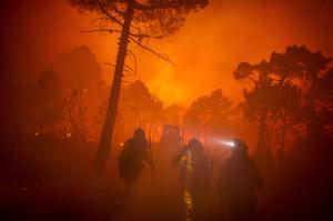 Pulsar sobre la imagen para acceder a galerías fotográficas de los últimos incendios forestales de la península. © Pedro ARMESTRE
