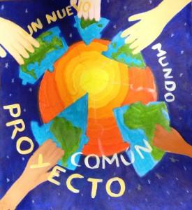 Cartel ganador que en esta XI Edición han logrado los alumnos de 3º B de ESO, Colegio San Gabriel-Pasionistas de Alcalá de Henares (Madrid)