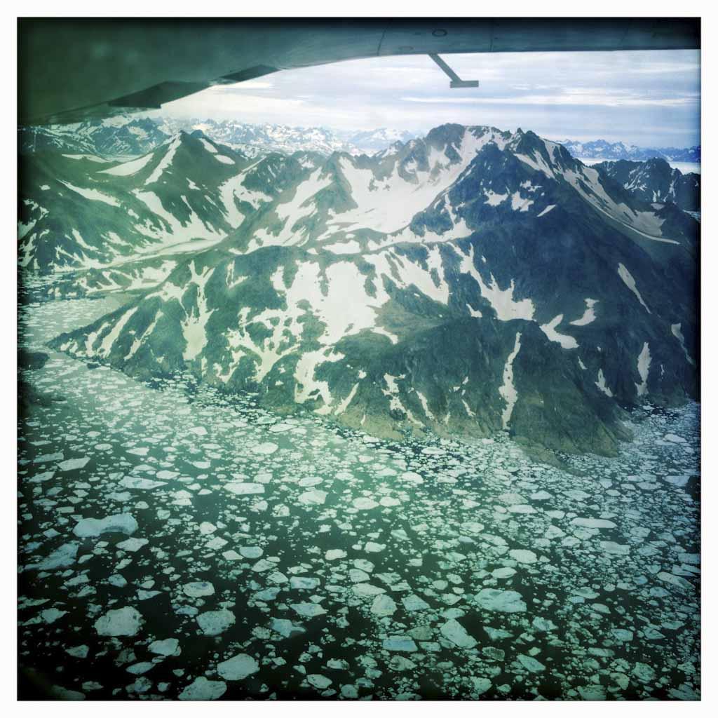 El deshielo avanza cada vez más rápido y donde antes había nieve ahora hay rocas