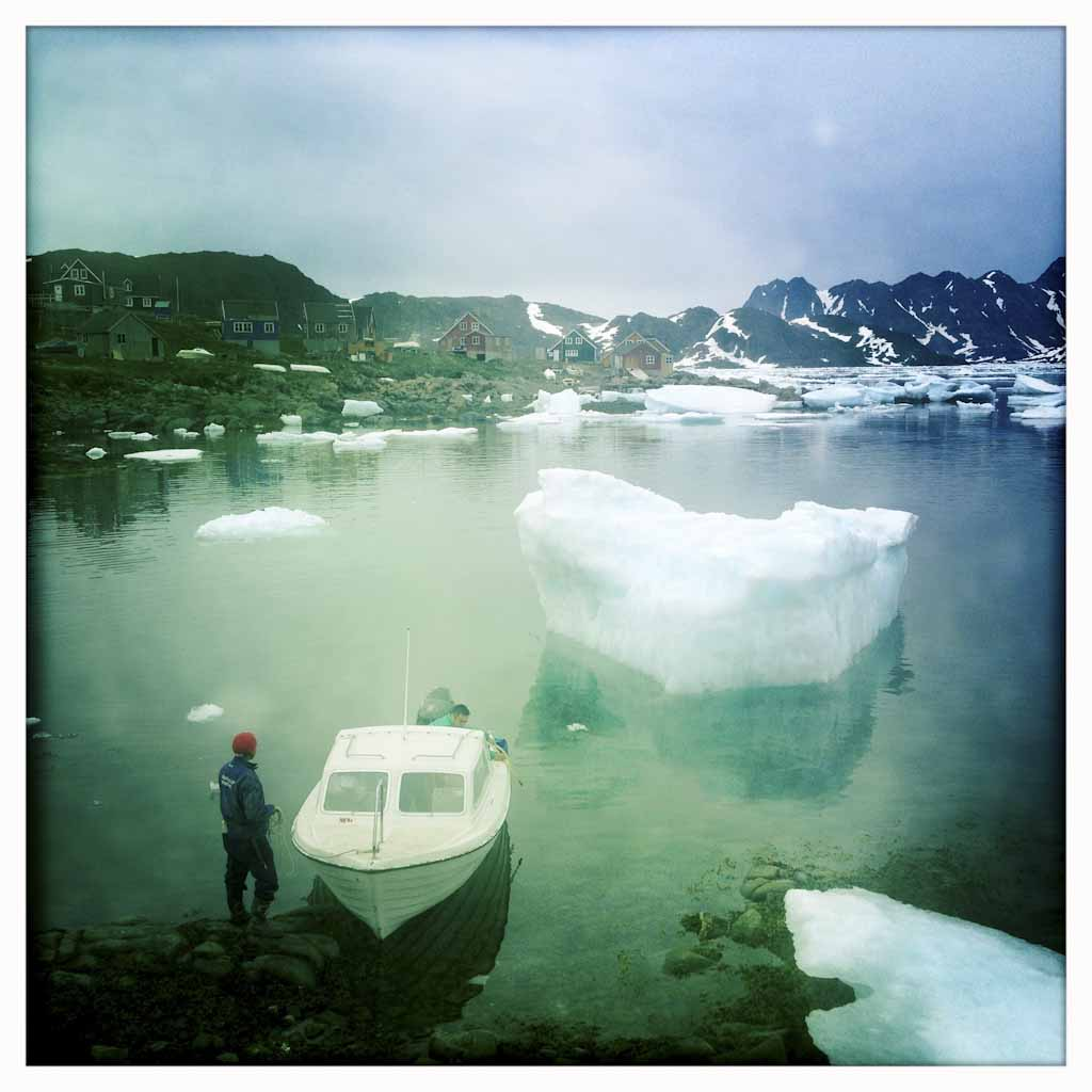 El Ártico está amenazado por las prospecciones petrolíferas. En la imagen, una de las zonas que ha visitado la expedición en el primer día de ruta.