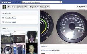 Perfil de Facebook de Francisco José Garzón, el maquinista del tren que descarriló el pasado miércoles en Santiago de Compostela.