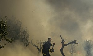 SPAIN-FOREST FIRE-
