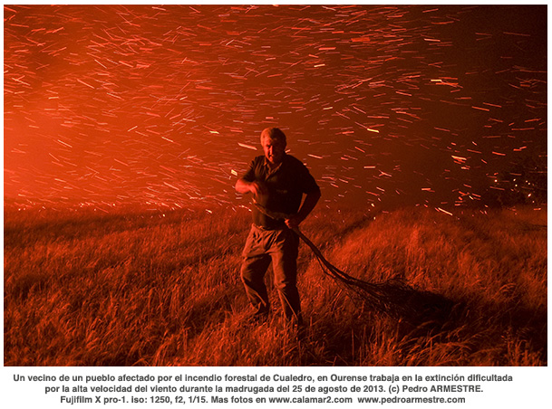 SPAIN-FOREST FIRE-CUALEDRO