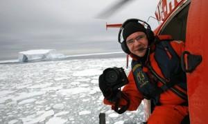 Pulsando sobre la imagen accedes al Artico de Daniel Beltrá
