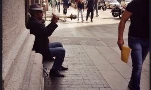 Trompetista de la vecindad