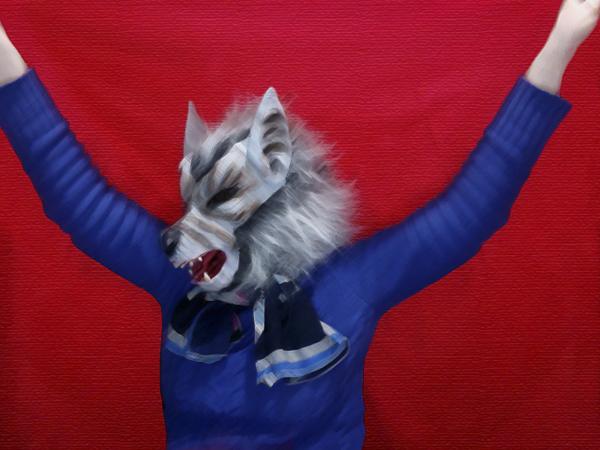 Lobo rojo1