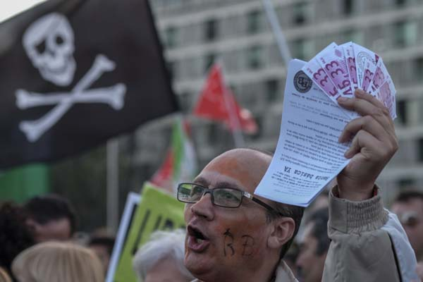 SPAIN - ECONOMY - SOCIAL - PROTEST