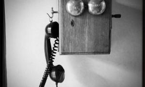 ultima llamada con tinta negra